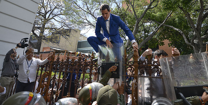 Imagen destacada post Enero mes turbulento en Venezuela