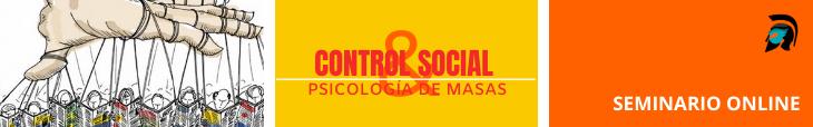 Banner seminario online Control social y psicología de masas Polemos Politic Post Por qué protestan en los EE.UU. Polemos Politic