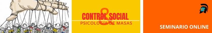 Banner Seminario Control social y psicologia de masas Polemos Politic Post Black live matter, ¿Una sana protesta o un pretexto marxista?