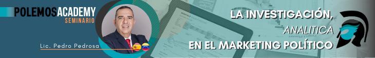 Banner Seminario La investigación Analítica en el marketing político Polemos Politic
